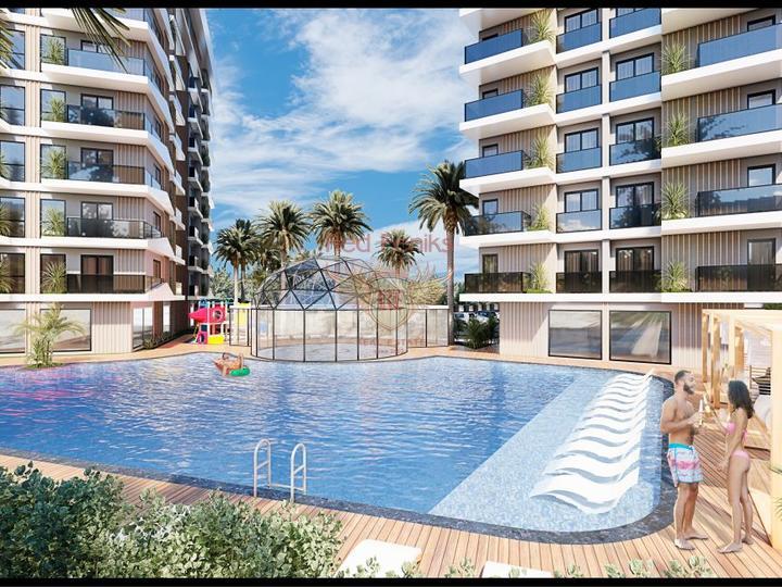 Внимание! Единственный проект на турецком Средиземноморье! Мы предлагаем безбарьерные квартиры для людей с ограничеными физическими возможностями в современном комплексе в Аланье.