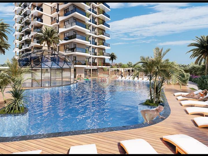 Самый Крупный Торговый Центр Анталии, находится в районе Лара.