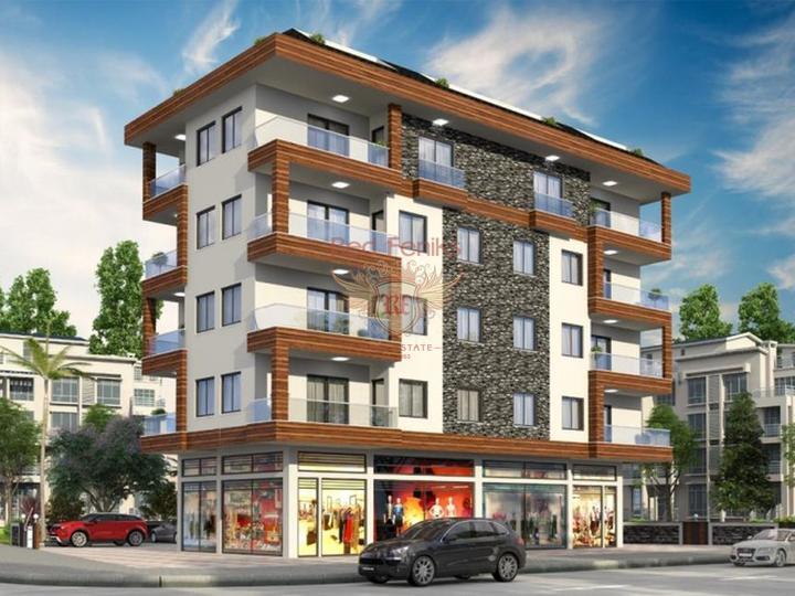 Продаются просторные квартиры в Авсалларе.