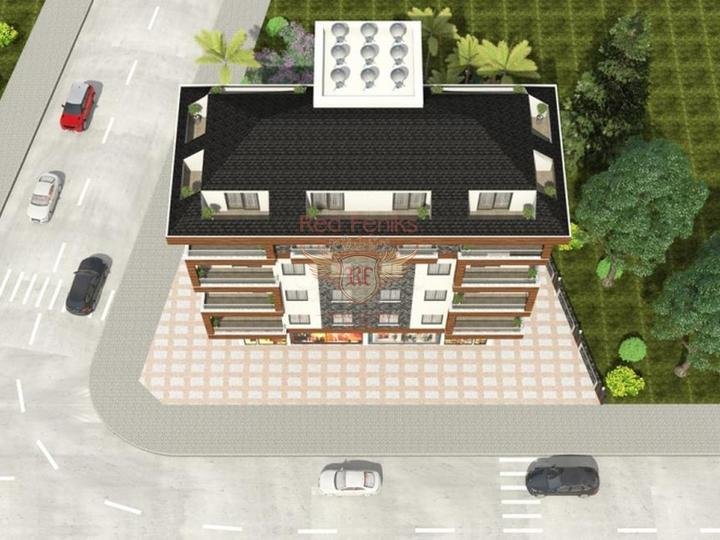 Квартира с видом на море в Авсалларе, купить квартиру в Алания