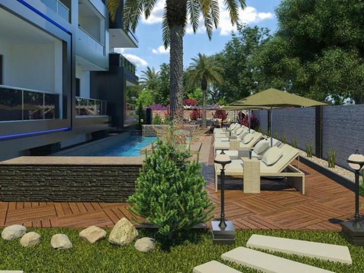 Preiswertes Penthouse in Avsallar, Wohnungen in Turkey, Wohnungen mit hohem Mietpotential in Turkey kaufen