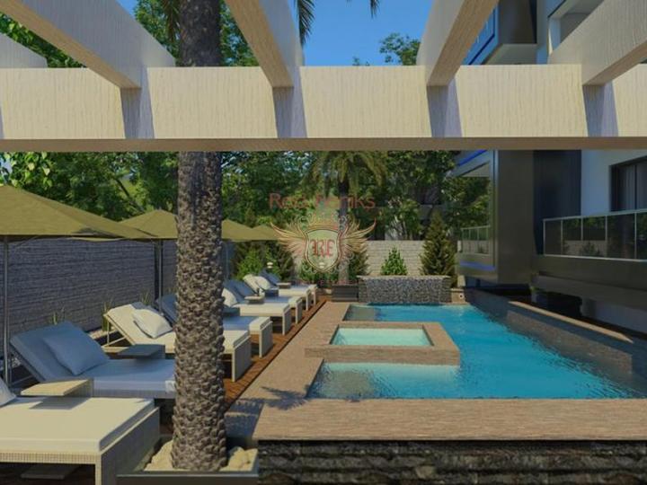 Preiswertes Penthouse in Avsallar, Wohnungen in Turkey kaufen, Wohnungen zur Miete in Alanya kaufen