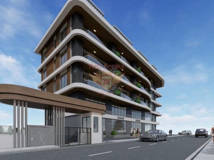 Apartments in der Elite von Alanya, Wohnungen in Turkey kaufen, Wohnungen zur Miete in Alanya kaufen