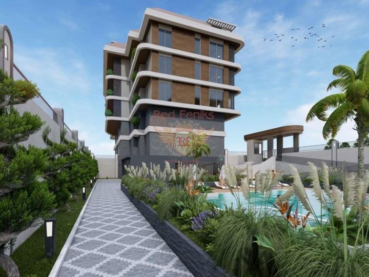 Apartments in der Elite von Alanya, Wohnungen zum Verkauf in Turkey, Wohnungen in Turkey Verkauf, Wohnung zum Verkauf in Alanya