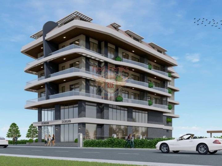 Apartments in der Elite von Alanya, Wohnungen in Turkey, Wohnungen mit hohem Mietpotential in Turkey kaufen
