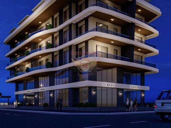 Apartments in der Elite von Alanya, Verkauf Wohnung in Alanya, Haus in Turkey kaufen