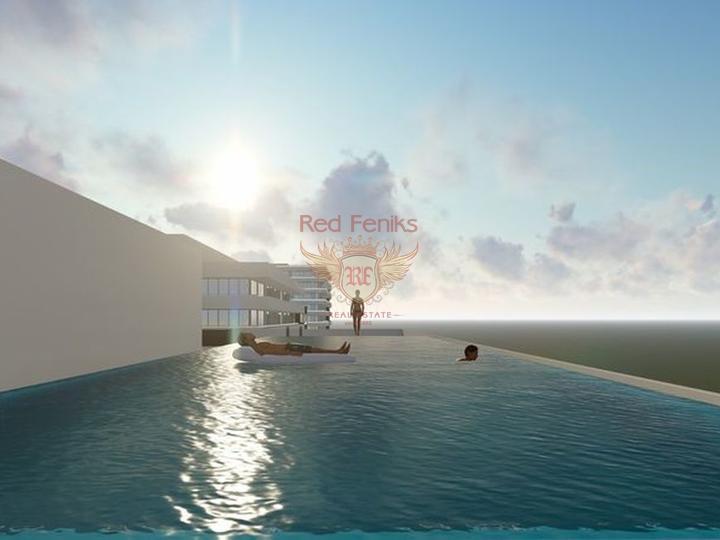 Роскошные 2+1 апартаменты в комплексе с бассейном, купить квартиру в Фамагуста