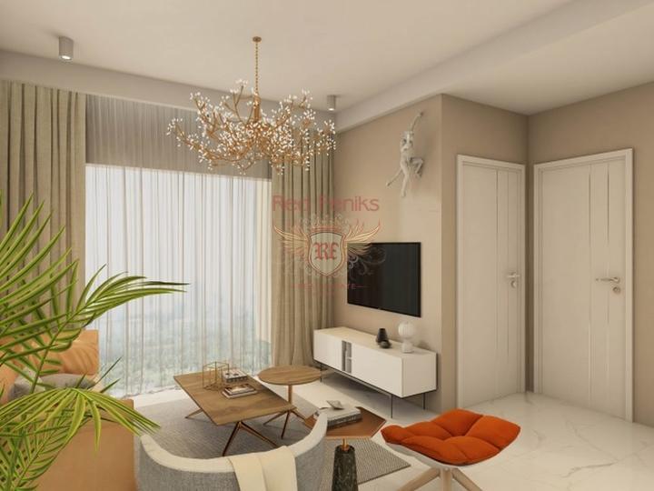Новые квартиры в центре Махмутлара, Аланья, купить квартиру в Алания