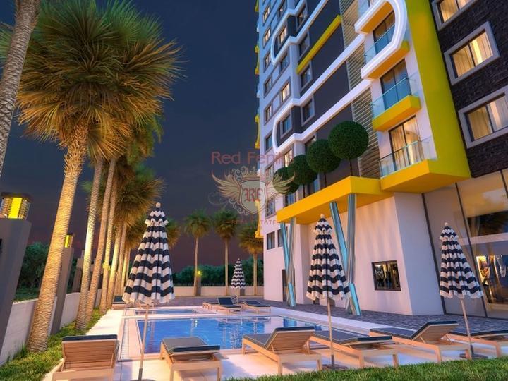 Новые квартиры в центре Махмутлара, Аланья, Квартира в Алания Турция