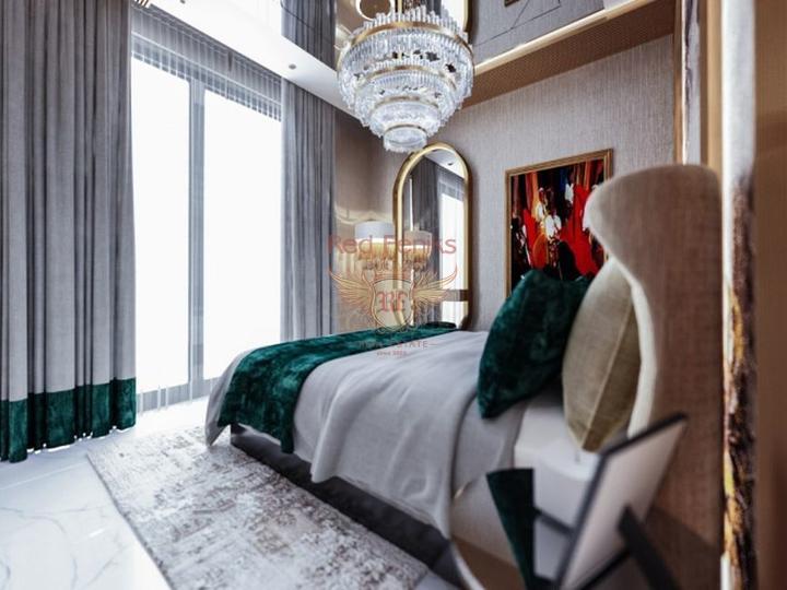 Новостройка класса люкс в Махмутларе, купить квартиру в Алания