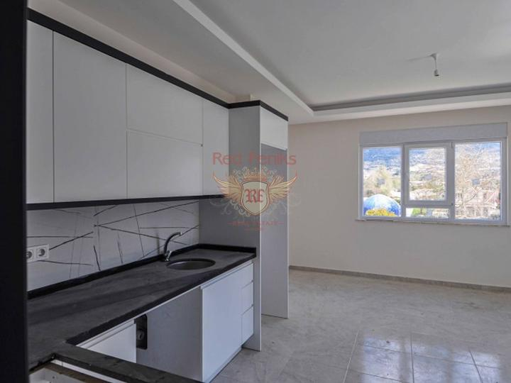 Новая квартира рядом с морем в Алании, Квартира в Алания Турция