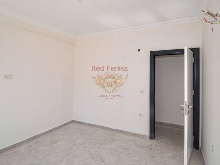 Новая квартира рядом с морем в Алании, купить квартиру в Алания