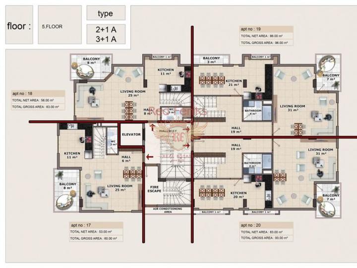 Квартира в Махмутларе, Квартира в Алания Турция