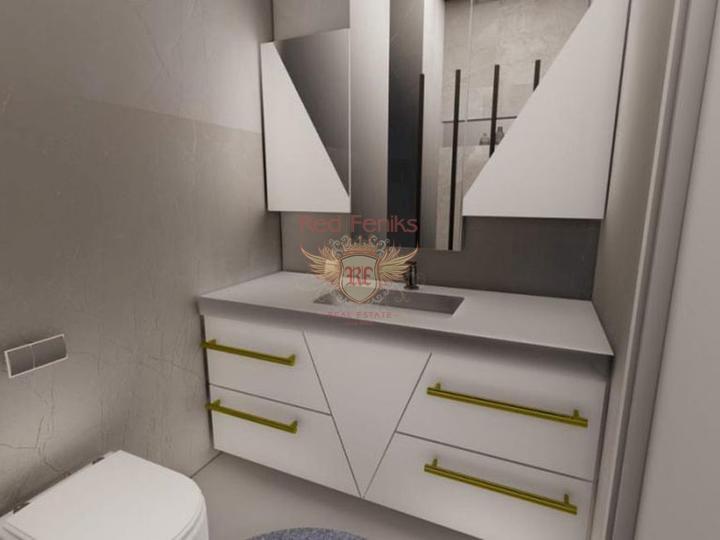 Бюджетная недвижимость квартиры 2+1 в Махмутларе, Квартира в Алания Турция