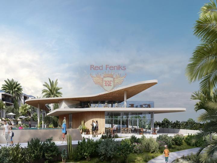 Вилла с 3 спальнями на берегу моря + камин + прямой выход к морю + турецкие титулы, купить дом в Кирения