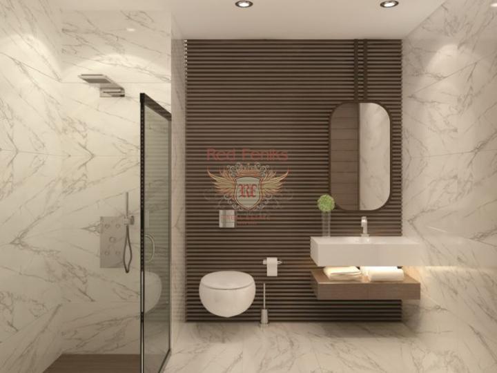 Роскошные 2+1 апартаменты в комплексе с бассейном, Квартира в Фамагуста Северный Кипр