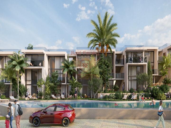 Вилла с 3 спальнями на берегу моря + камин + прямой выход к морю + турецкие титулы, купить виллу в Кирения