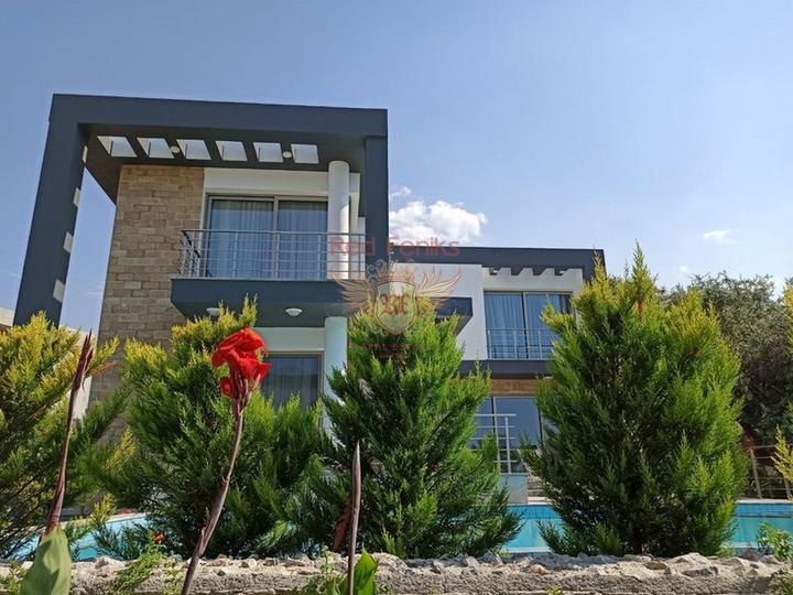Новая вилла с 3 спальнями в современном стиле, Дом в Кирения Северный Кипр