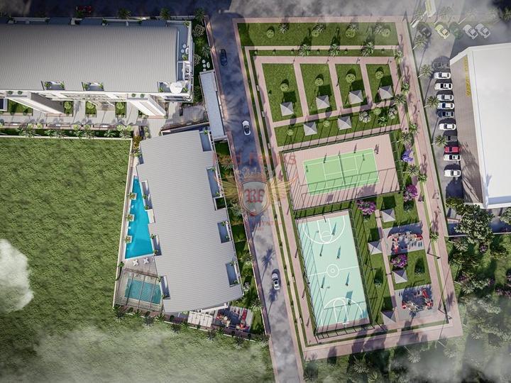 Красивая вилла с 4 спальнями, изогнутым бассейном и прекрасным видом, купить дом в Кирения