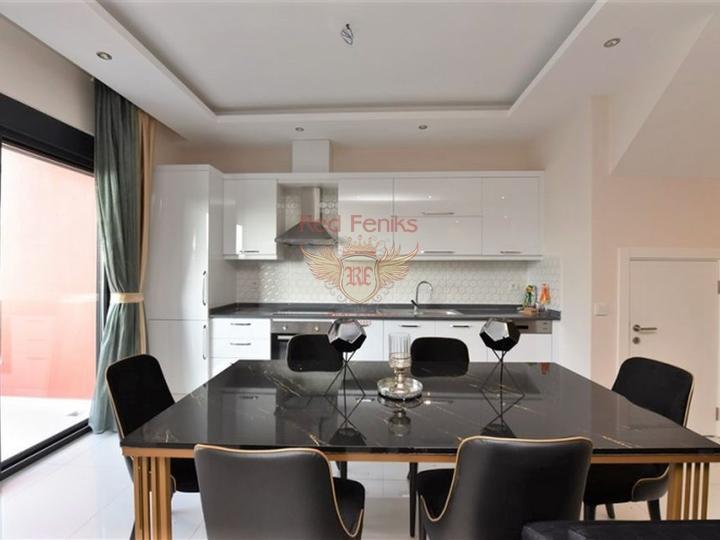 Новые квартиры с бытовой техникой и мебелью на продажу в Каргыджаке, Алания, купить квартиру в Алания