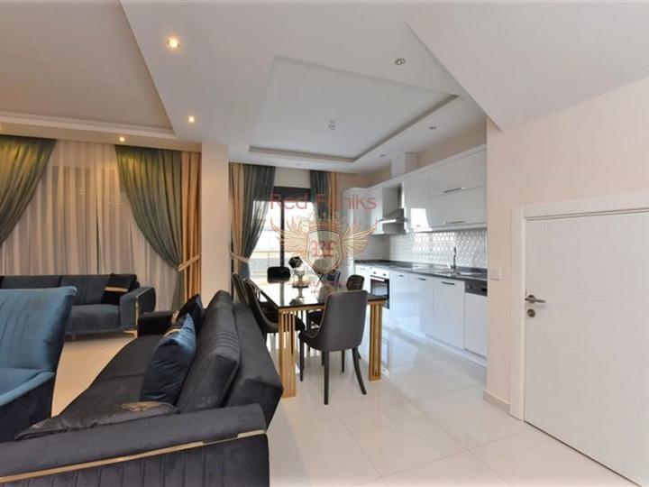 Новые квартиры с бытовой техникой и мебелью на продажу в Каргыджаке, Алания, Квартира в Алания Турция
