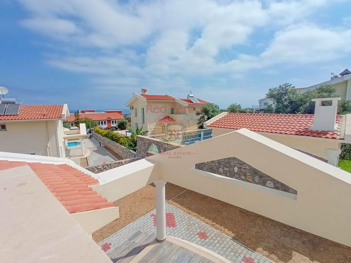 Новая вилла с 3 спальнями + недалеко от Британского колледжа Некат + вид на море и горы, Дом в Кирения Северный Кипр
