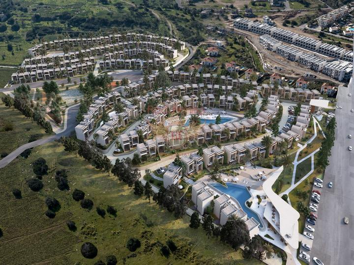 Вилла в средиземноморском стиле с 3 спальнями + полностью меблированная, купить виллу в Фамагуста