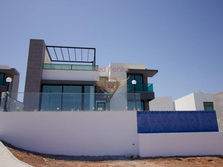 Виллы с 3 спальнями, бассейном и кондиционерами, купить виллу в Кирения