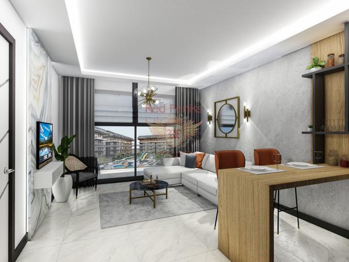 Отель на первой линии моря в Конаклы, Алания, купить коммерческую недвижимость в Алания
