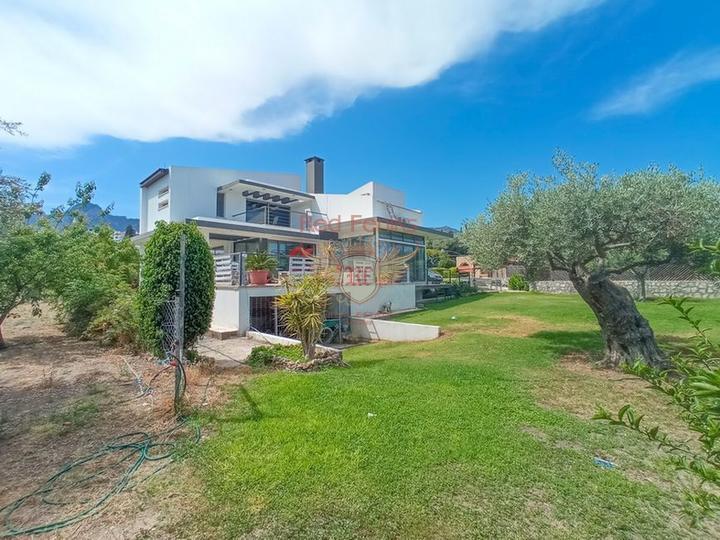 Современная вилла с 4 спальнями + большой участок + колодец, купить дом в Кирения