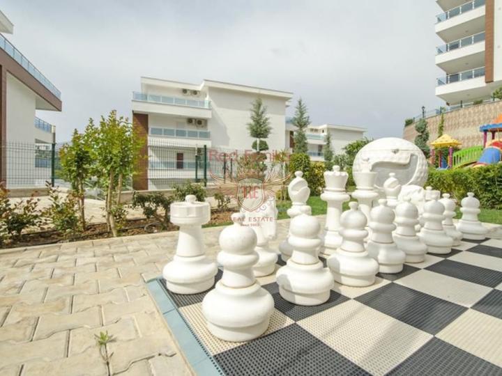 Продажа квартир в Турции в отличном комплексе, купить квартиру в Алания