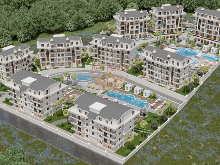 Курортный отель на побережье Средиземного моря. Тюрклер Алания, Коммерческая недвижимость в Алания Турция
