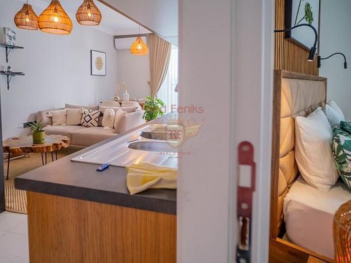 Комплекс вилл и квартир класса люкс в Алании Каргыджак.