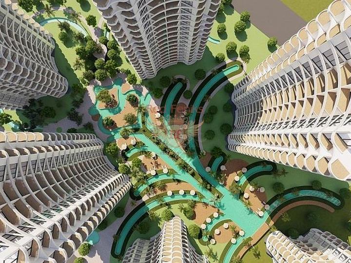 Квартиры 1+1, 2+1, 3+1 в новом жилом комплексе в Стамбуле, Квартира в Стамбул Турция