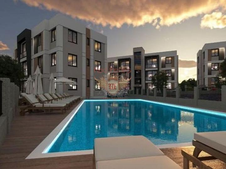 Квартиры 1+1, 2+1, 3+1 в новом жилом комплексе в Стамбуле, купить квартиру в Стамбул