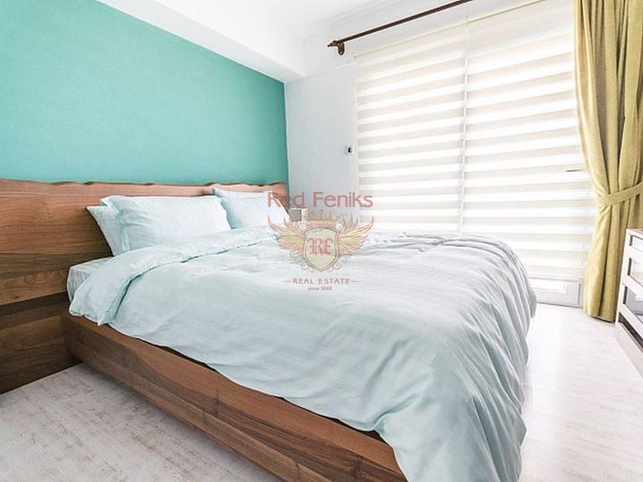 Neubau in Kargicak zu verkaufen, Wohnung mit Meerblick zum Verkauf in Turkey, Wohnung in Алания kaufen, Haus in Алания kaufen