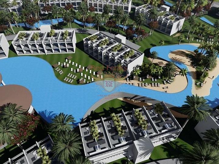 Продано! Новая недорогая квартира 1+1 в Алании, Квартира в Алания Турция