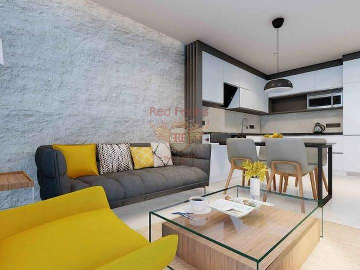 Новостройка в Центре Алании, Квартира в Алания Турция
