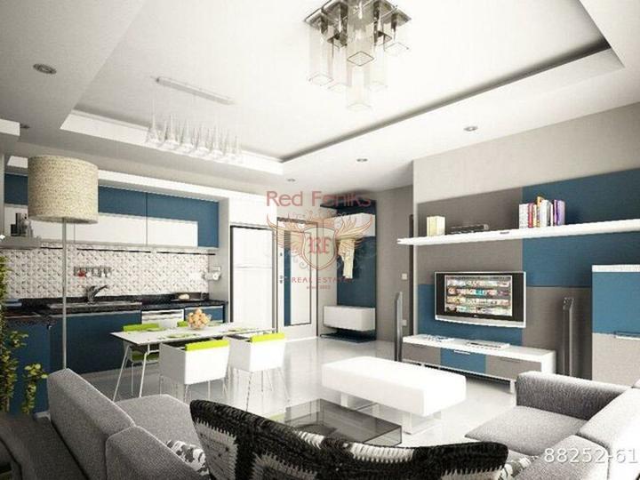 Продажа однокомнатной студии в Алании, Махмутлар, купить квартиру в Алания