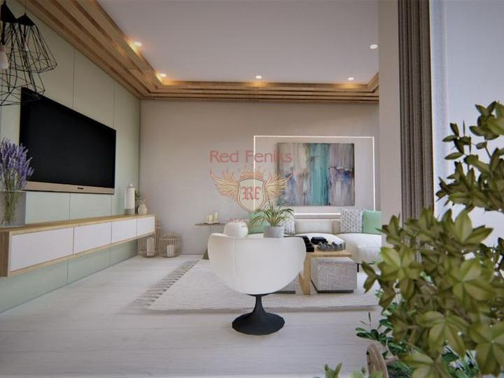 1 + 1 apartments in Alanya by the sea, sea view apartment for sale in Turkey, buy apartment in Alanya, house in Alanya buy