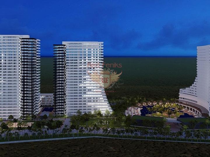 Новые Квартиры в Махмутларе. Алания, купить квартиру в Алания