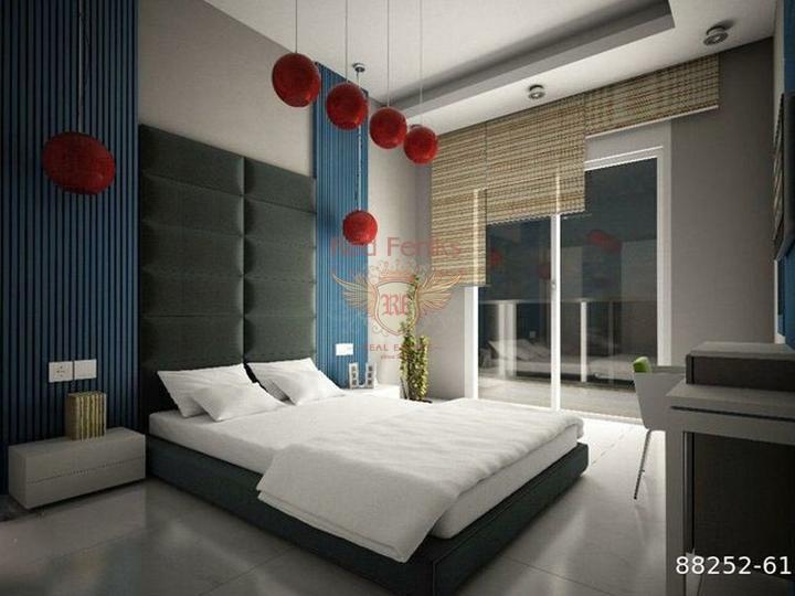 Стильный апартамент в новом доме. Продажа, Квартира в Алания Турция