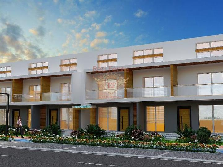 Apartments for sale in Turkey Alanya, 70 m from the beach, Kargicak.