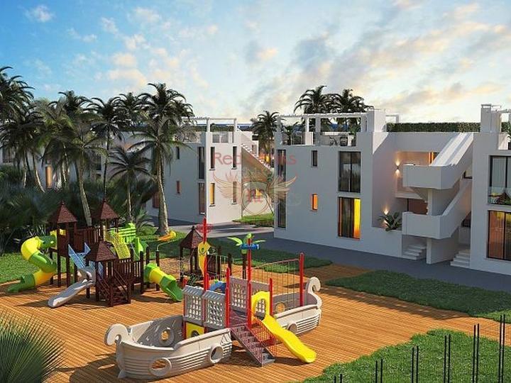 Апартаменты на первой береговой в Мухмутларе, купить квартиру в Алания