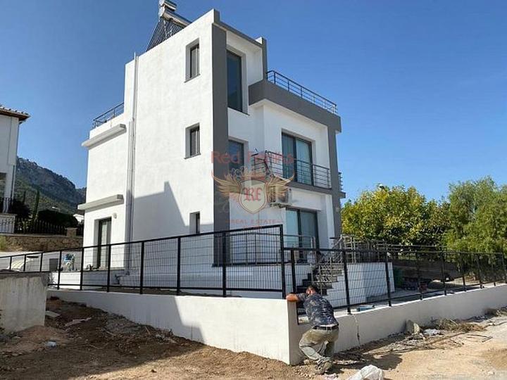 Эксклюзивная вилла с видом на море всего в 400 м. от пляжа, купить дом в Алания