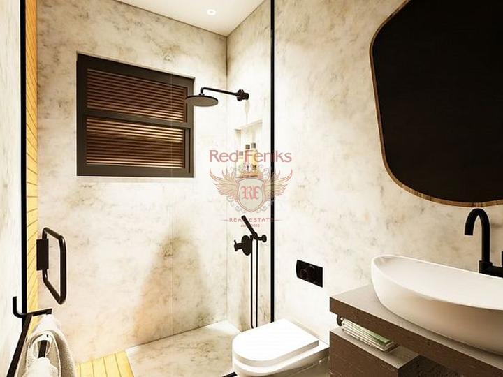 Новые квартиры в Махмутларе рядом с морем, купить квартиру в Алания