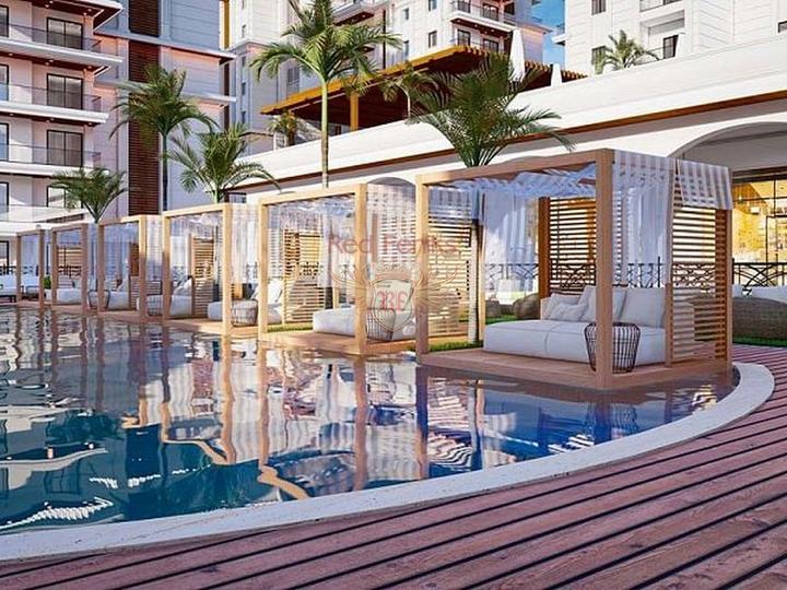 Шикарная квартира с видом на море, купить квартиру в Алания