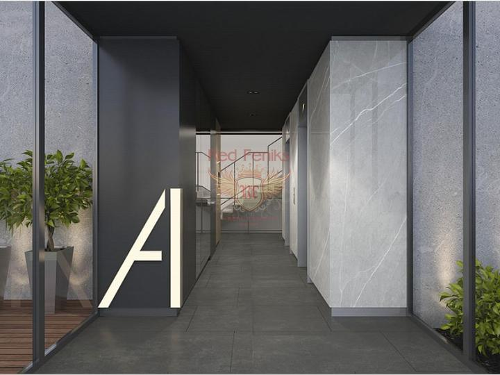 Квартира находится в современном комплексе с идеальным расположением, как для проживания, так и для сдачи в аренду.