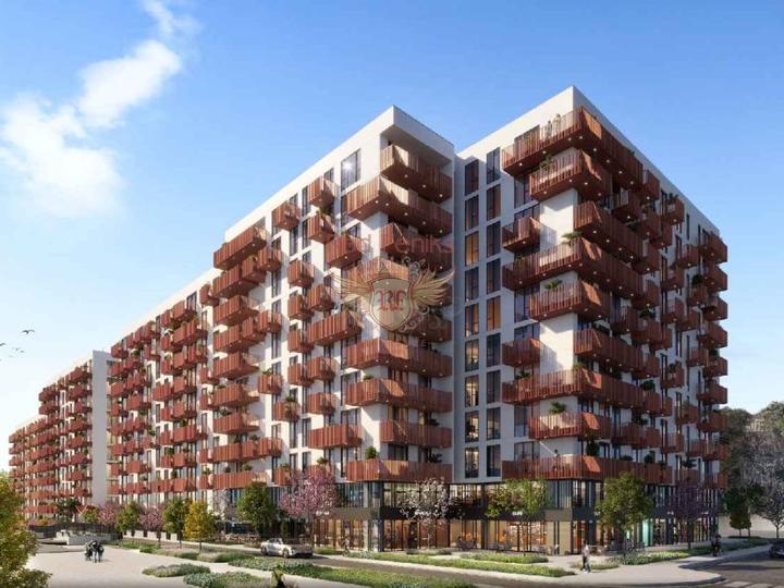 2+1 квартиры на продажу в новом здании в Фетхие-Турция.