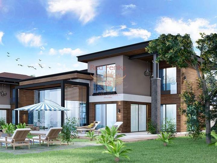 Апартаменты в шаговой доступности от моря с развитой инфраструктурой Апартаменты находятся в Коньяалты у береговой линии.